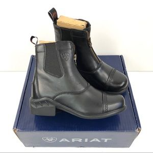 Ariat Heritage RT Paddock Zip Up Boots Leather